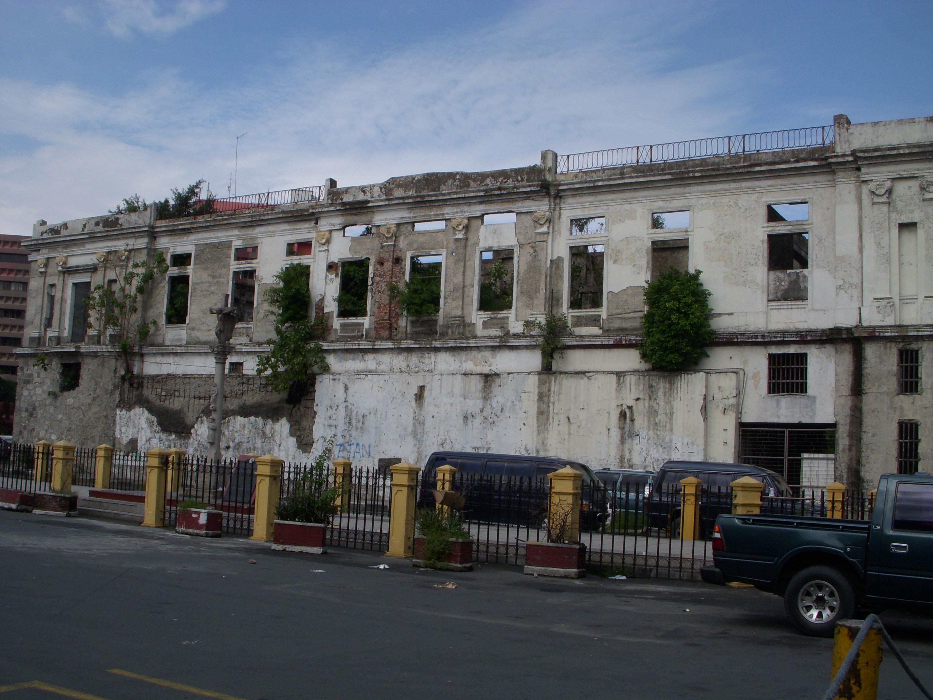 Manille globe trottine for Bureau des douanes 64