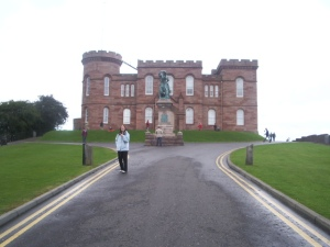 Inverness Castle et martha