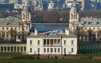 Queen's house + naval college greenwich Londres