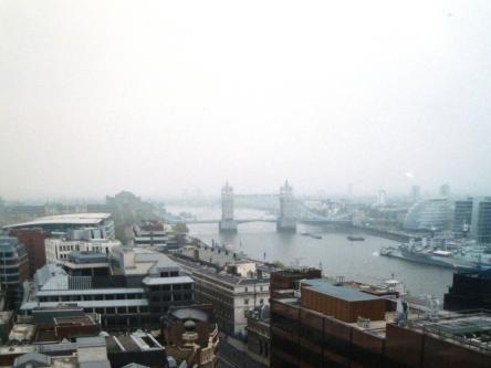 vue monument Londres UK