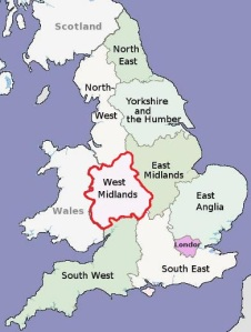 west midlands