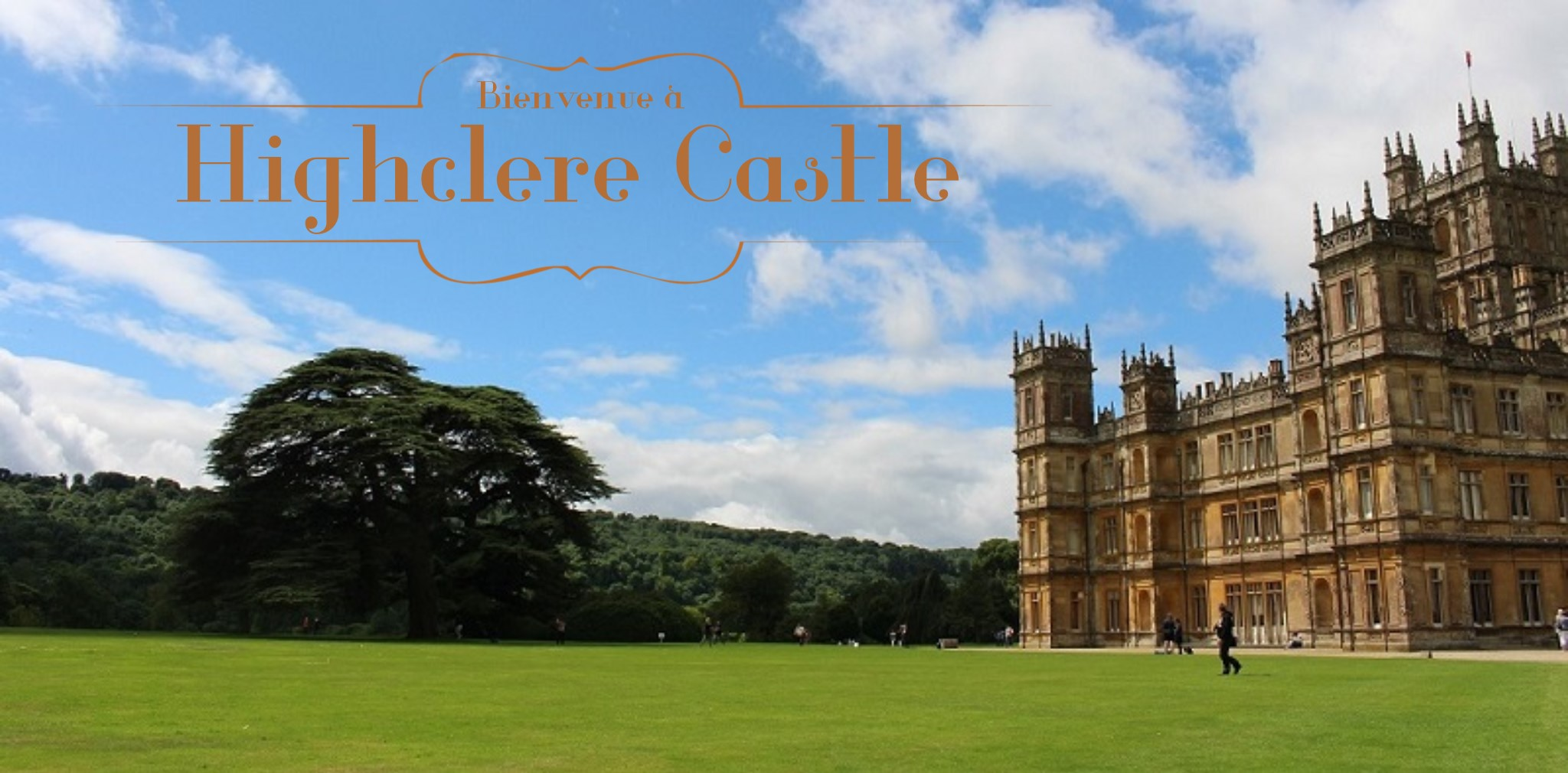 Highclere castle le ch teau de downton abbey globe trottine - Chateau downton abbey ...