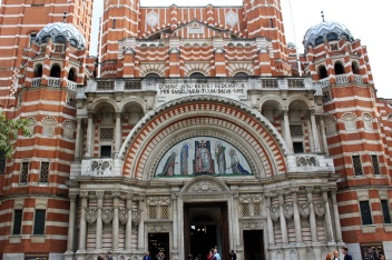 entrée cathédrale de Westminster Londres