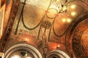 cathédrale Westminster mosaïque or Londres