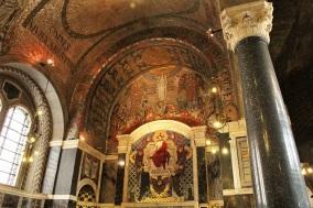cathédrale Westminster dorures Londres