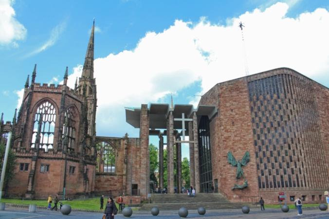Coventry deux cathédrales