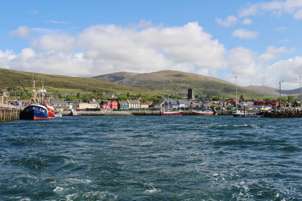 Dingle Irlande port