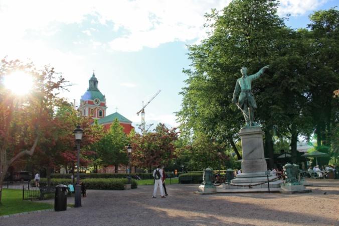 Stockholm kungstradgarden