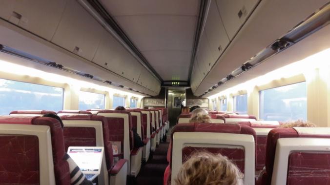 Québec Montréal train