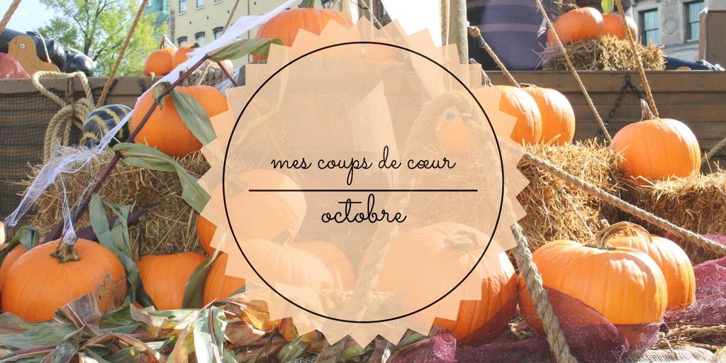 coups de coeur octobre