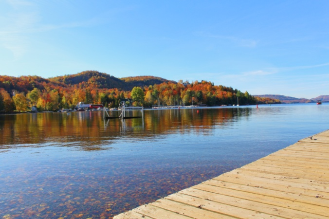 lac mont tremblant canada