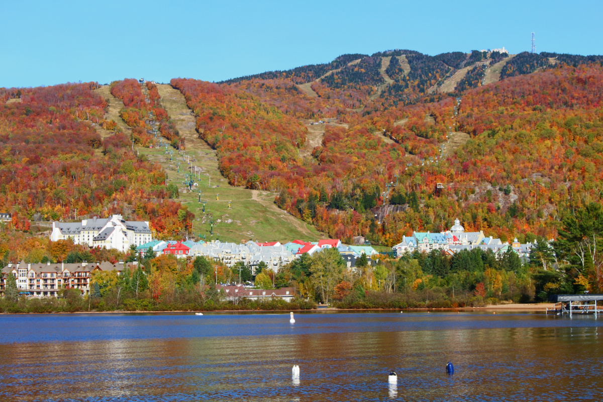 mont tremblant lac canada