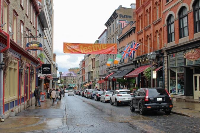 rue saint Jean Québec