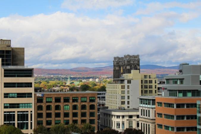 vue ville basse Québec