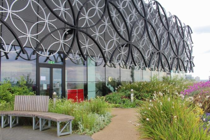 bibliothèque jardin Birmingham