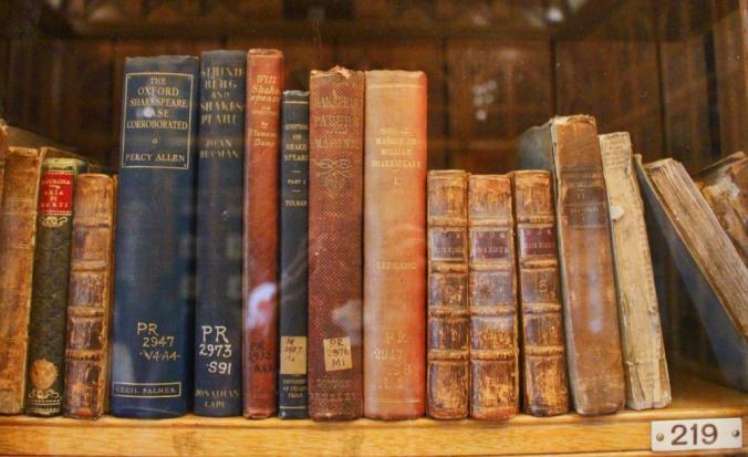 bibliothèque Shakespeare Birmingham