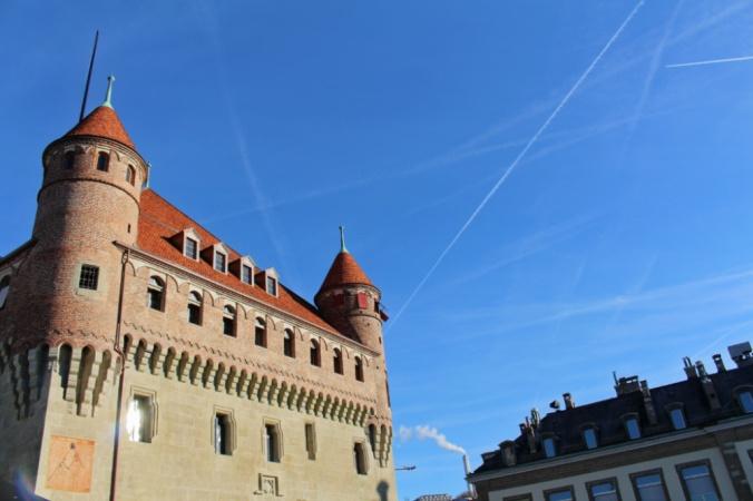 château saint Maire Lausanne