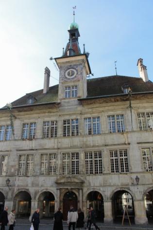 hôtel de ville Lausanne