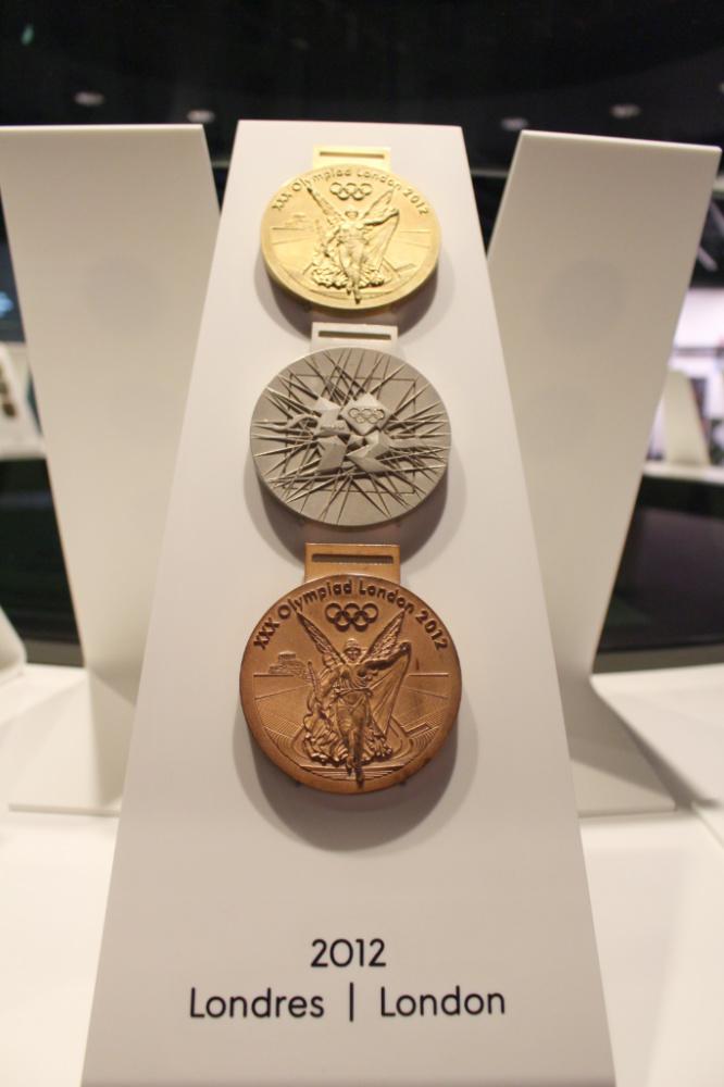 médailles olympiques lausanne