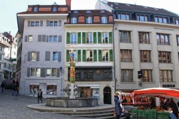 place de la palud Lausanne