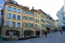 quartier de bourg Lausanne