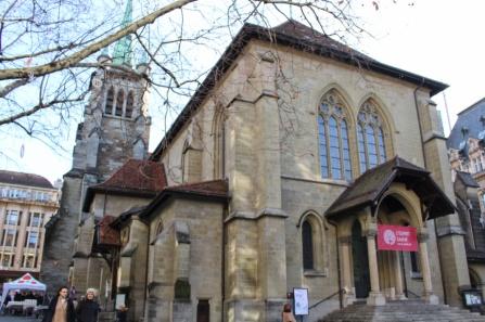 Saint François Lausanne
