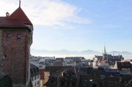 vue Lausanne