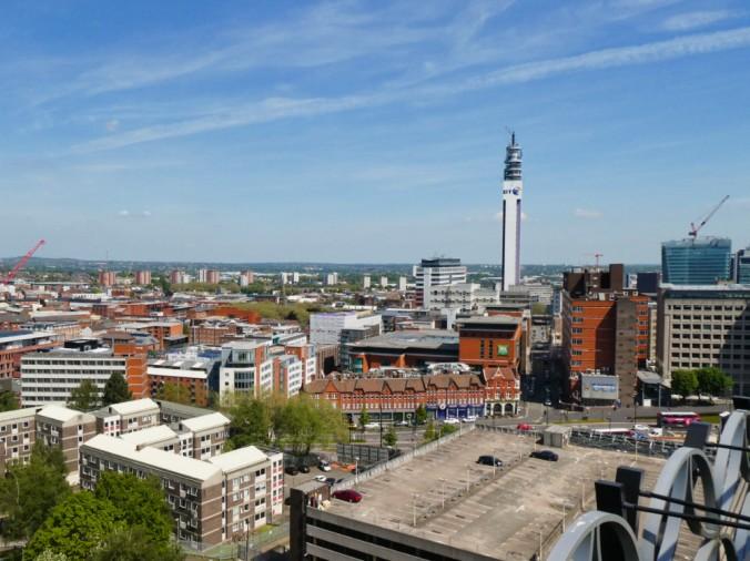 Birmingham vue bibliothèque