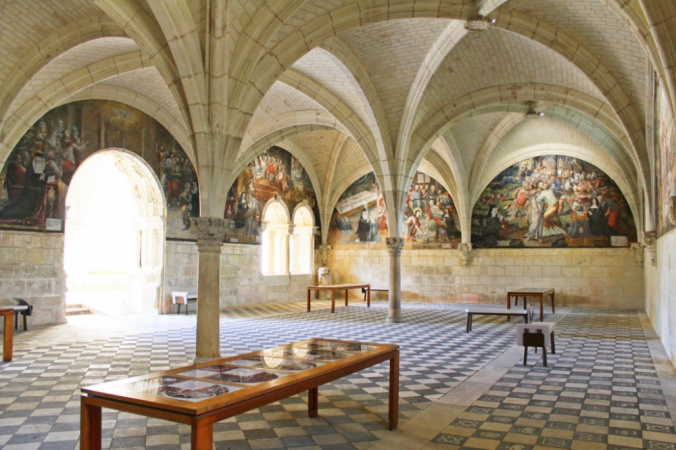 salle capitulaire Fontevraud