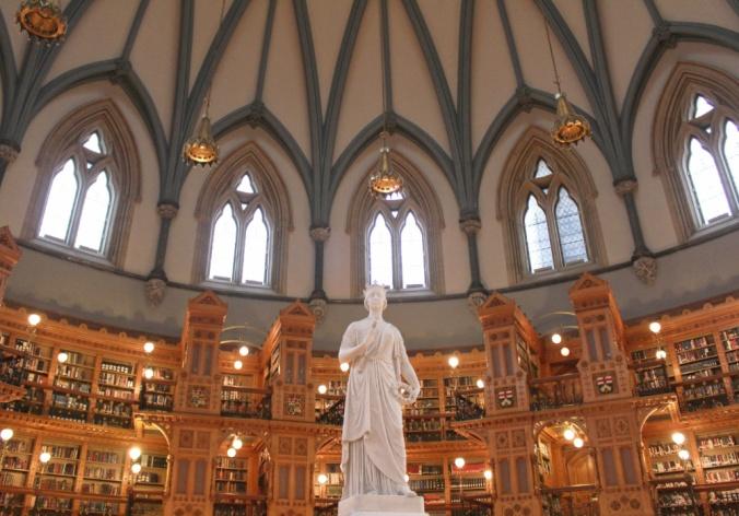 bibliothèque parlement Ottawa