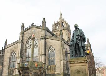 cathédrale St Giles Edimbourg