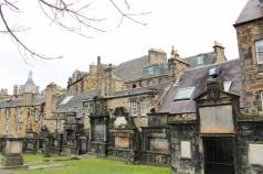 cimetière Greyfriars Edimbourg