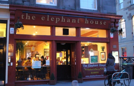 elephant house Edimbourg