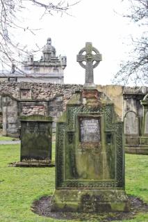 Greyfriars tombe Edimbourg