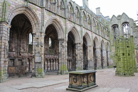 Holyrood abbey Edimbourg