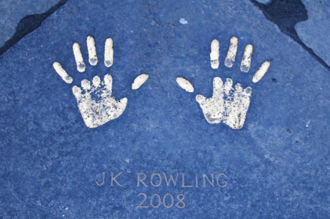 JK Rowling Edimbourg