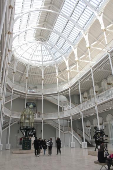 museum of Scotland Edimbourg