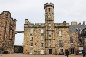 palais royal château d'Edimbourg