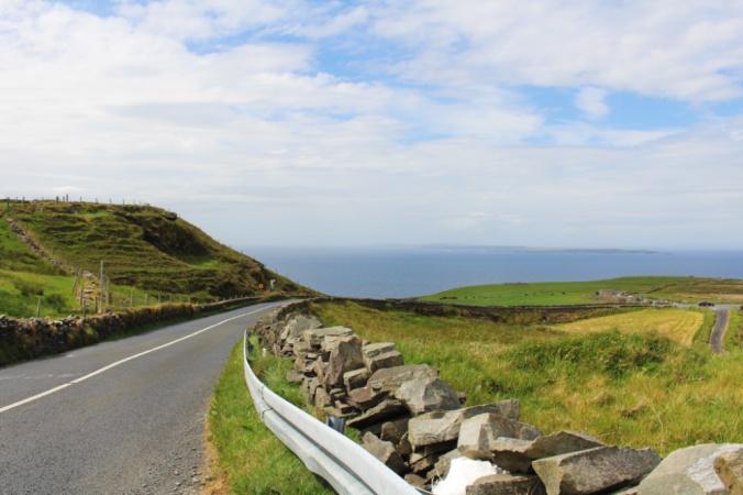 route des falaises de Moher Irlande