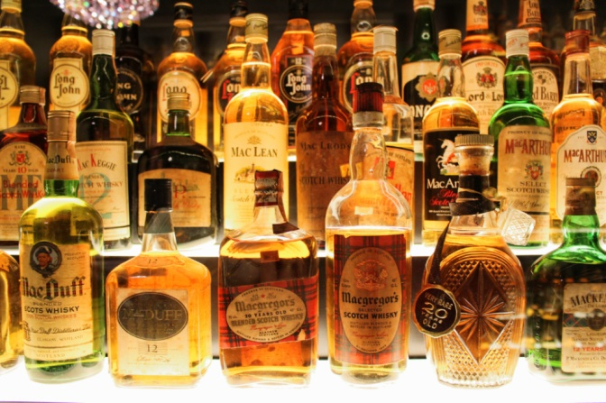scotch whisky experience bouteilles