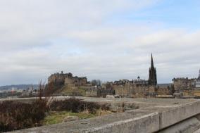 vue museum of Scotland Edimbourg