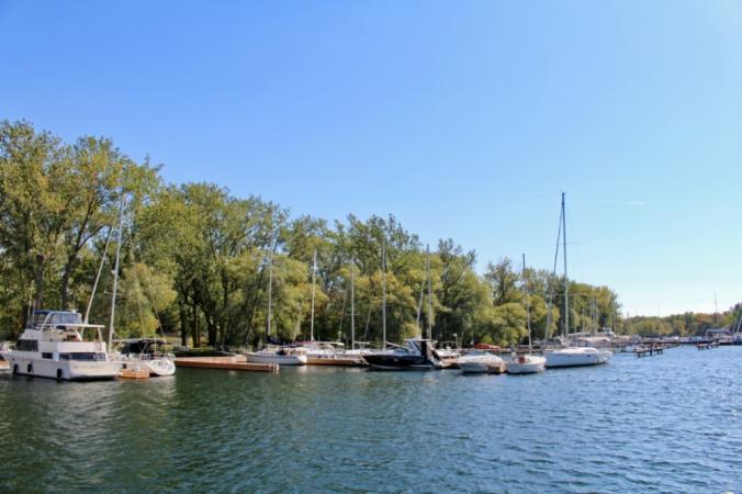 îles de Toronto bateaux