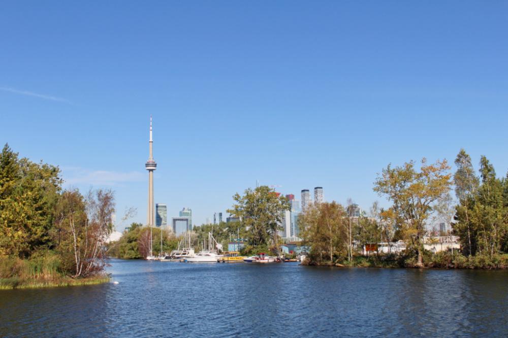 îles de Toronto skyline
