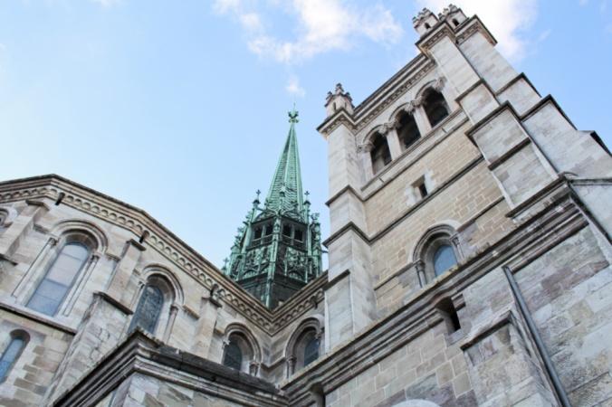 cathédrale st pierre Genève
