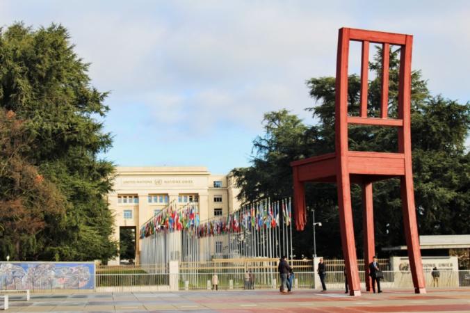 chaise ONU Genève