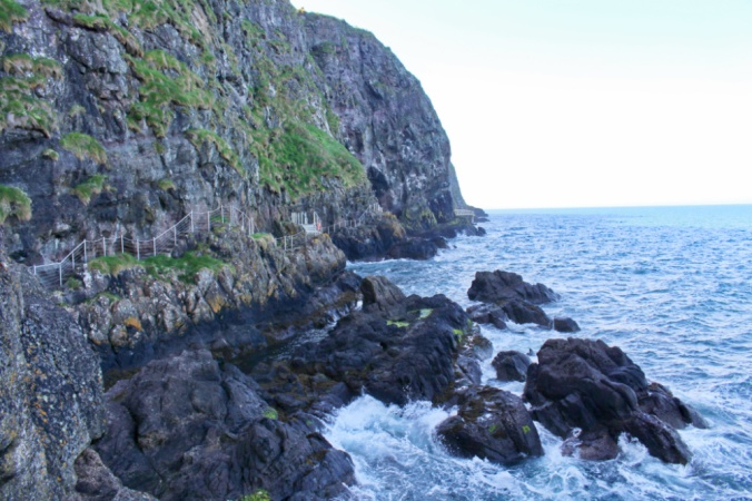 Gobbins path Irlande