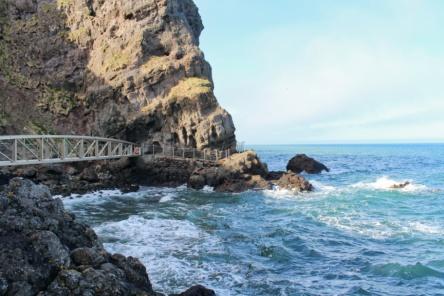 Gobbins premier pont Irlande