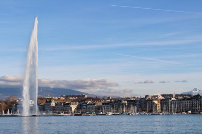jet d'eau 2 Genève