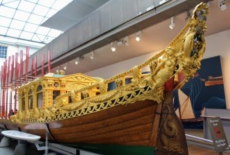 national maritime museum bateau Londres