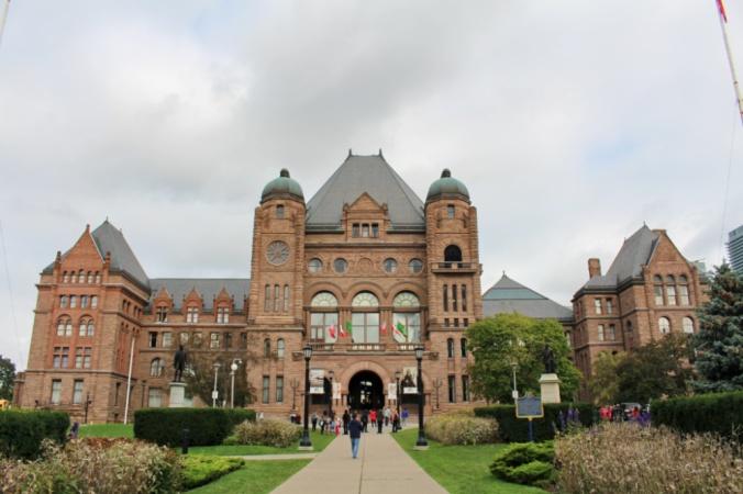 parlement Toronto